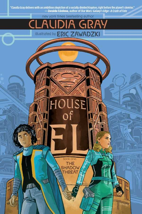 House of El Book One: The Shadow Threat Cover