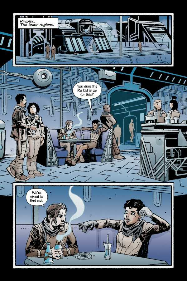 House of El Book One: The Shadow Threat Preview Page One
