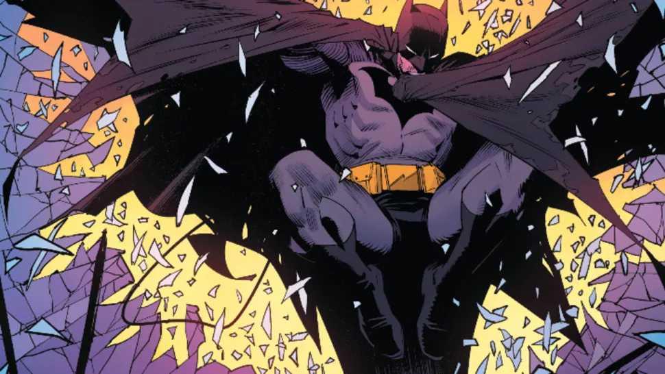 "Detective Comics 1027 ""The Gift"" Panel"