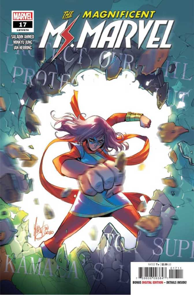 The Magnificent Ms. Marvel #17 Cover