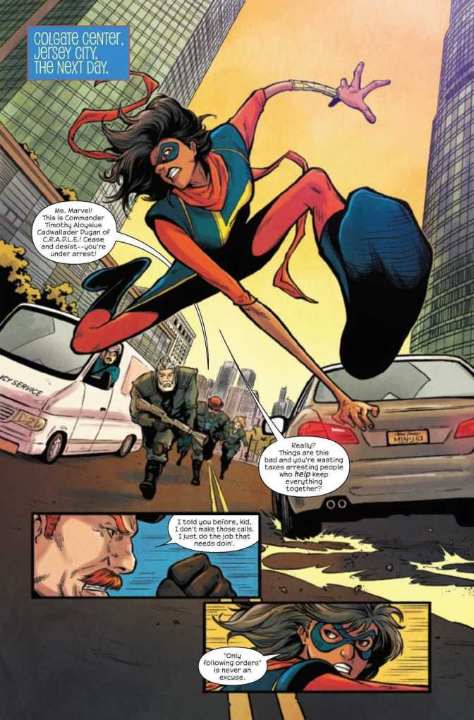 The Magnificent Ms. Marvel #17 Preview Page 3