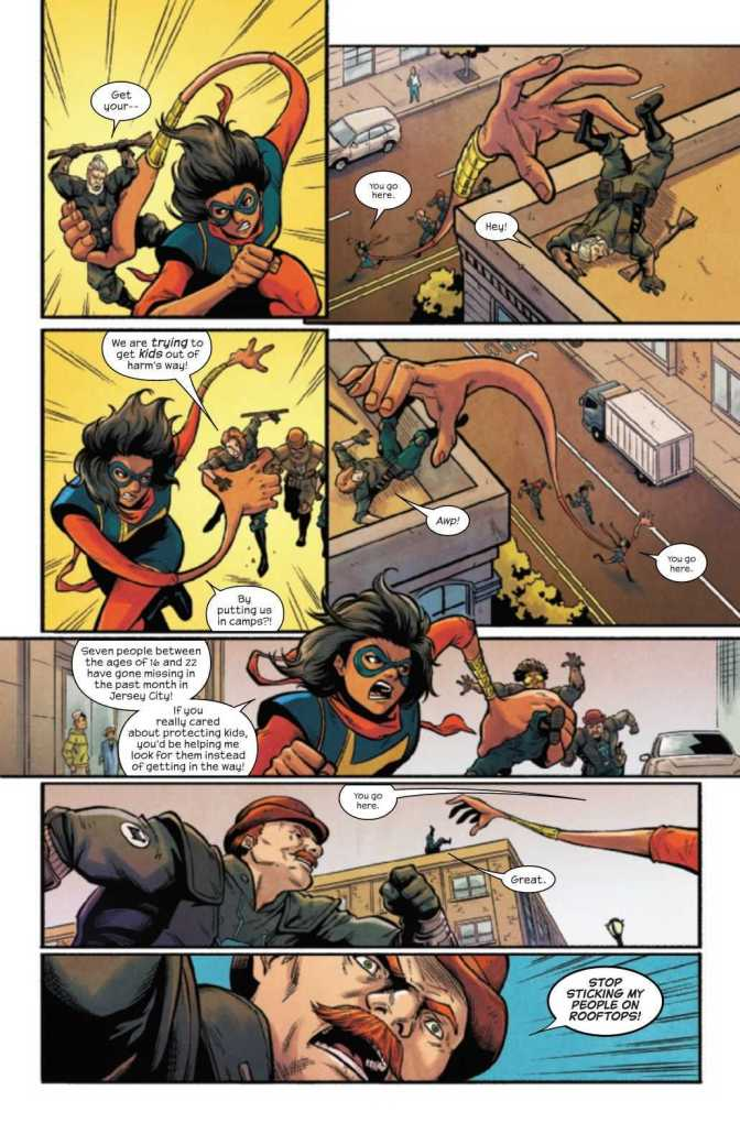 The Magnificent Ms. Marvel #17 Preview Page 4