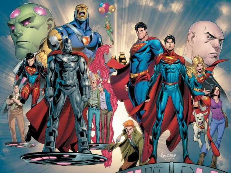 Superman #29- Infinite Hope Announcement Visual