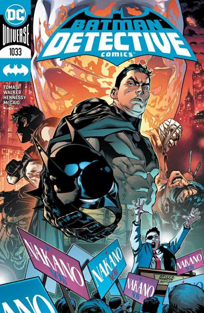 Detective Comics Issue No. 1033 Cover