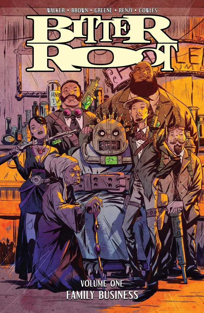 Bitter Root Vol. 1 Cover