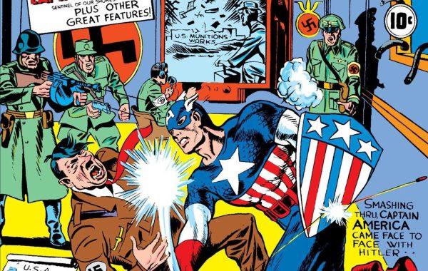 Captain America #1 Cover part 2