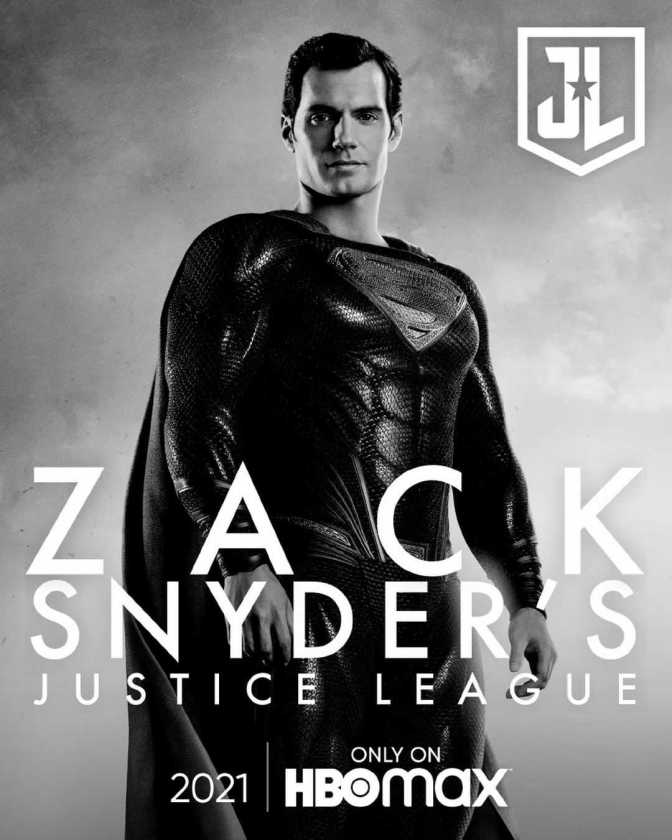 Justice League-Snyder Cut Promotional Poster