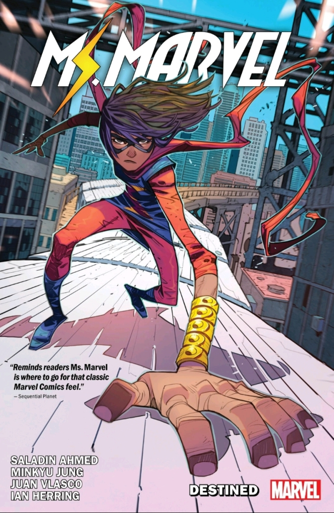 Magnificent Ms. Marvel 'Destined' Vol One Cover