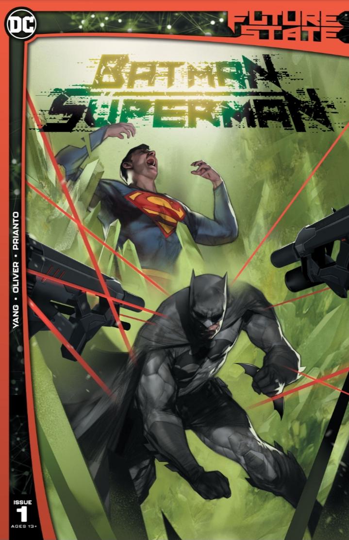 Future State: Batman/Superman #1 Cover