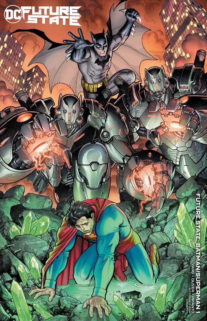 Future State: Batman/Superman #1 Variant Cover