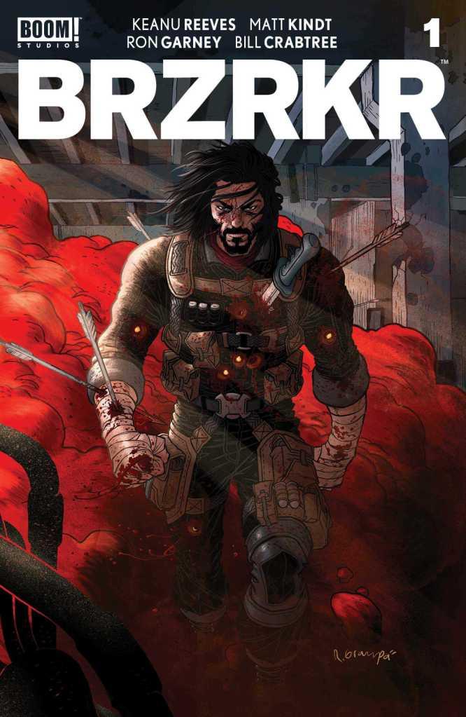BRZRKR # 1 Cover
