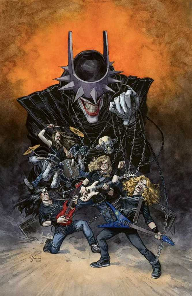 Issue #1: Featured band: Megadeth Cover