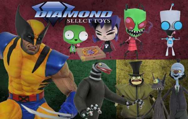 Diamond Select Toys February PREVIEWS