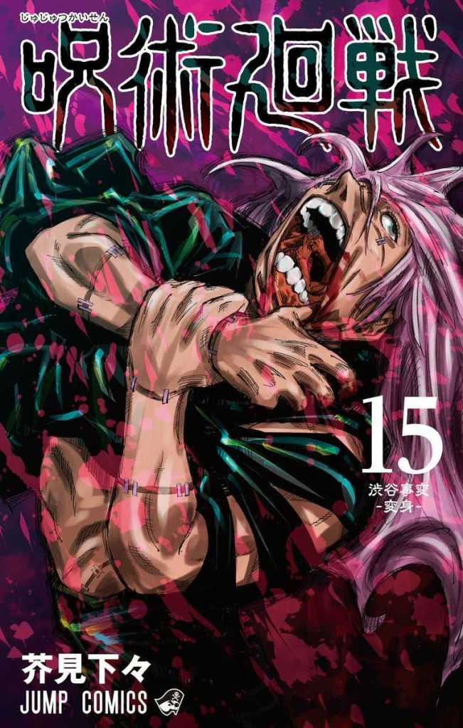 Jujutsu Kaisen Vol. 15 Cover