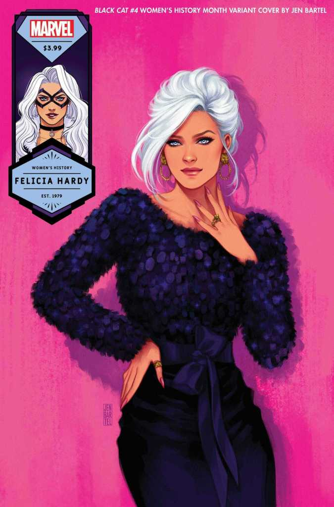 Black Cat #4 Felicia Hardy, Women's History Month Variant Cover