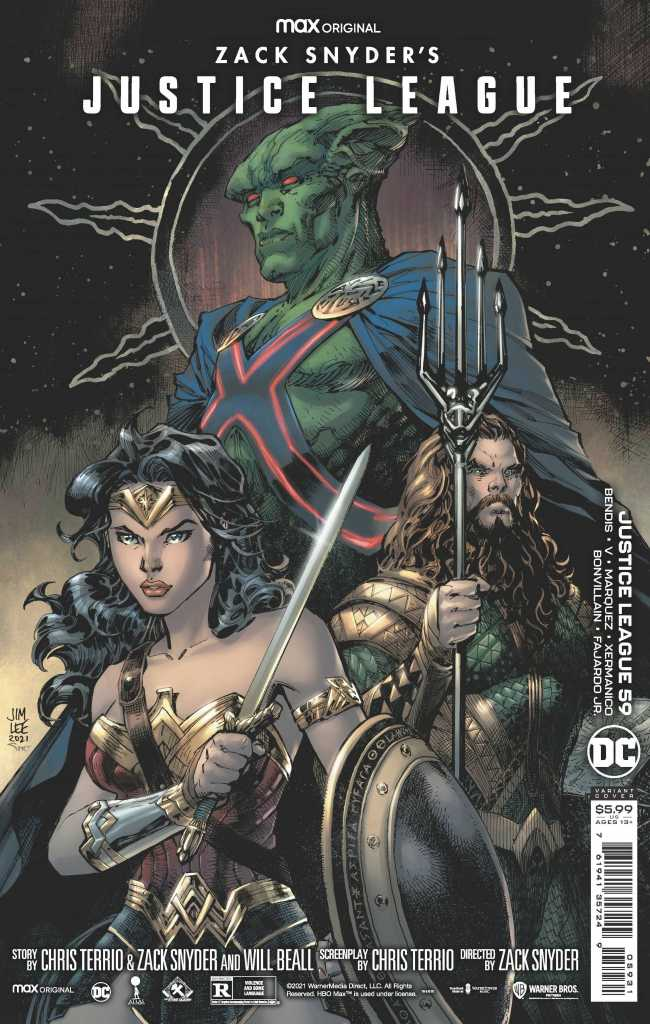 Zack Snyder Justice League Issue 59 Variant: Jim Lee