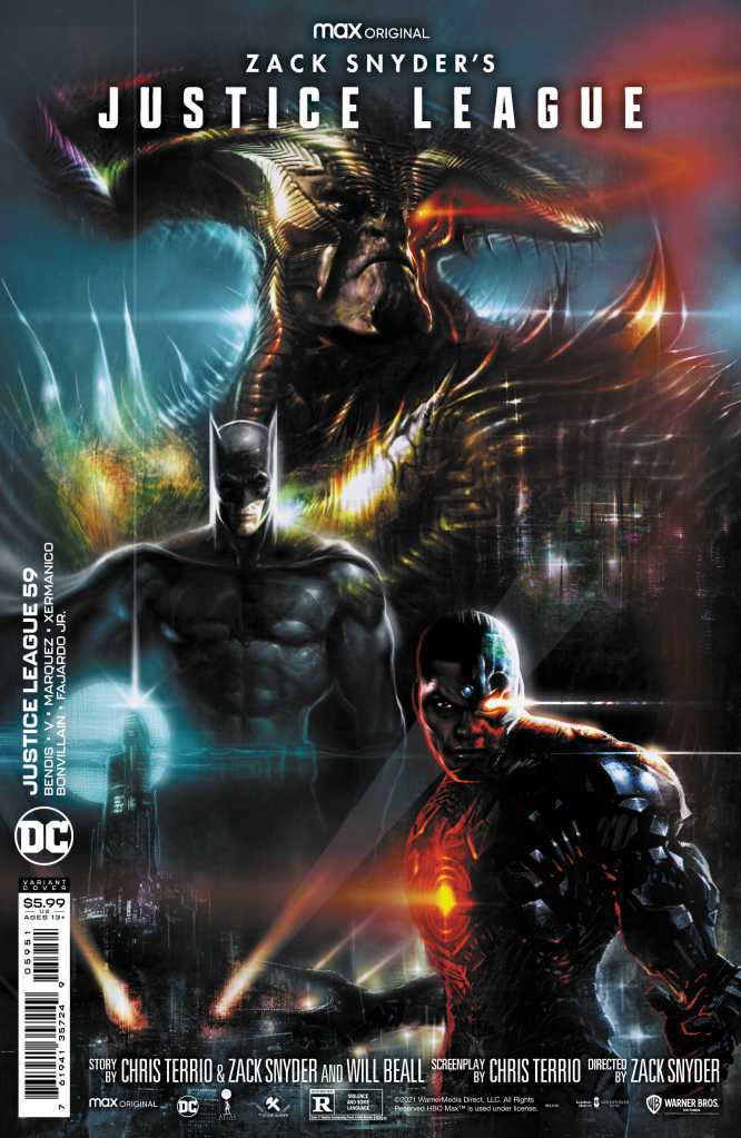 Zack Snyder Justice League Issue 59 Variant: Liam Sharp