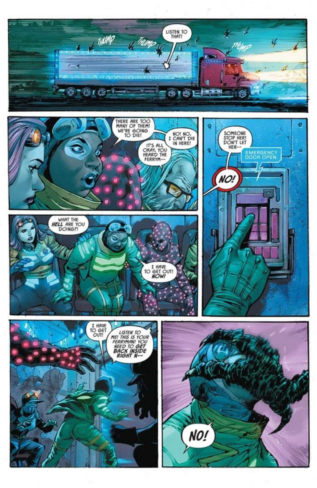 Nocterra #1 Preview Page Three