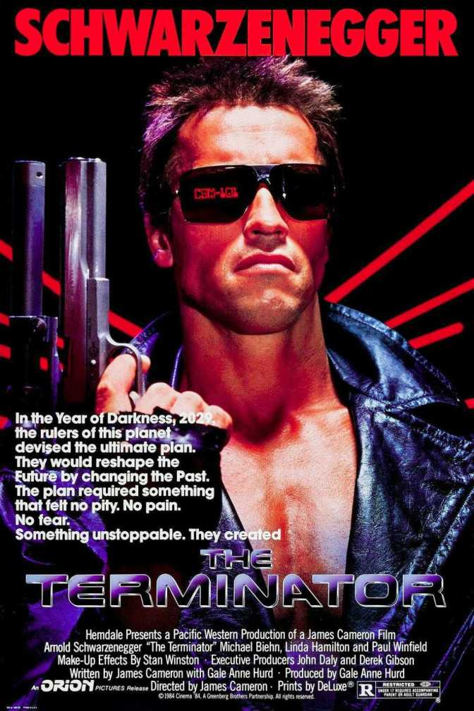 The Terminator Film Poster