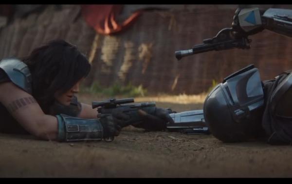 Mandalorian Fight Scene Cara Dune