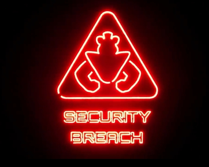 Five Nights at Freddy's Security Breach Logo