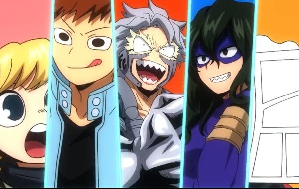 My Hero Academia Class 1-B Visual