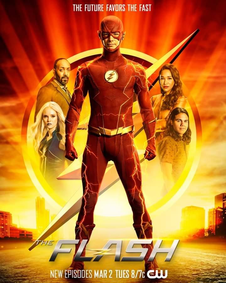 The Flash Season Seven Promotional Visua