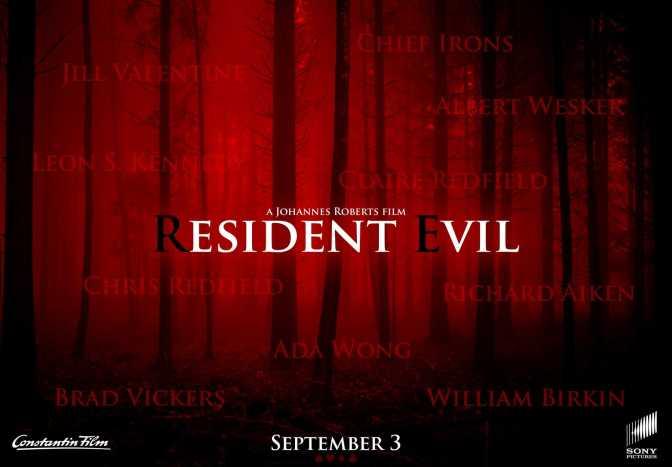 Resident Evil Reboot Poster Teaser