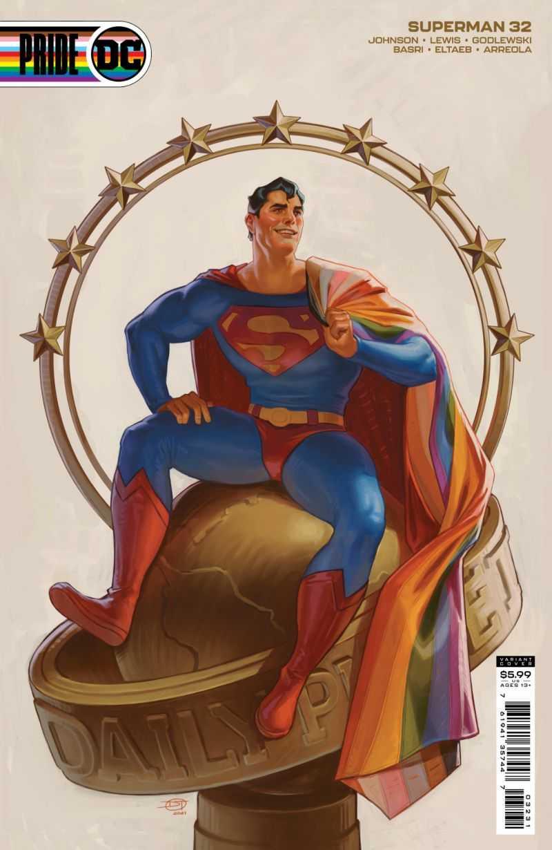 Superman #32 Pride Variant Cover: David Talaski