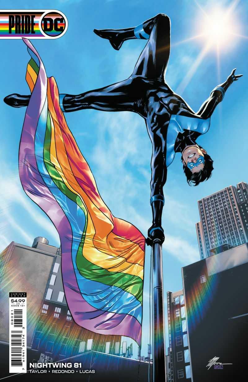 Nightwing #81 Pride Variant Cover: Travis G. Moore