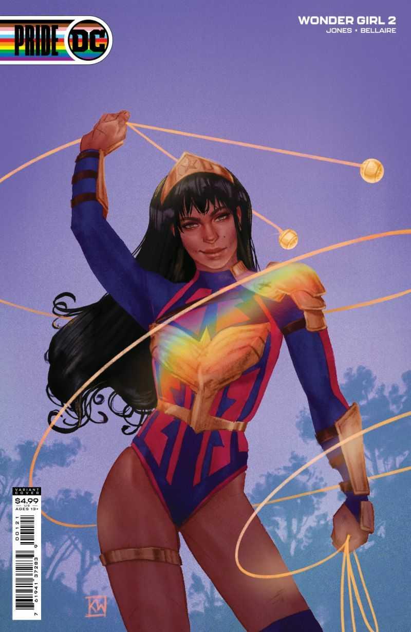 Wonder Girl #2 Pride Variant Cover: Kevin Wada
