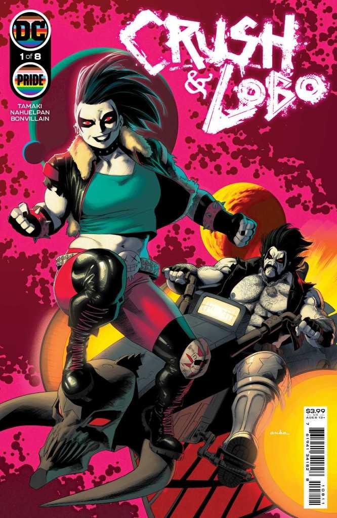 Crush & Lobo #1 Cover: Kris Anka