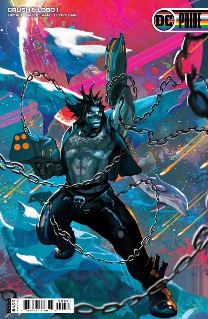 Crush & Lobo #1 Variant Cover: Christian Ward