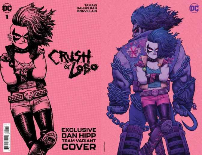 Crush & Lobo #1 Variant Cover: Dan Hipp Team Exclusive