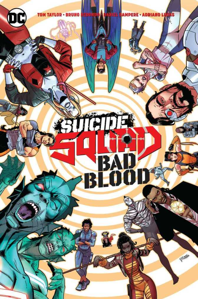Suicide Squad: Bad Blood Cover