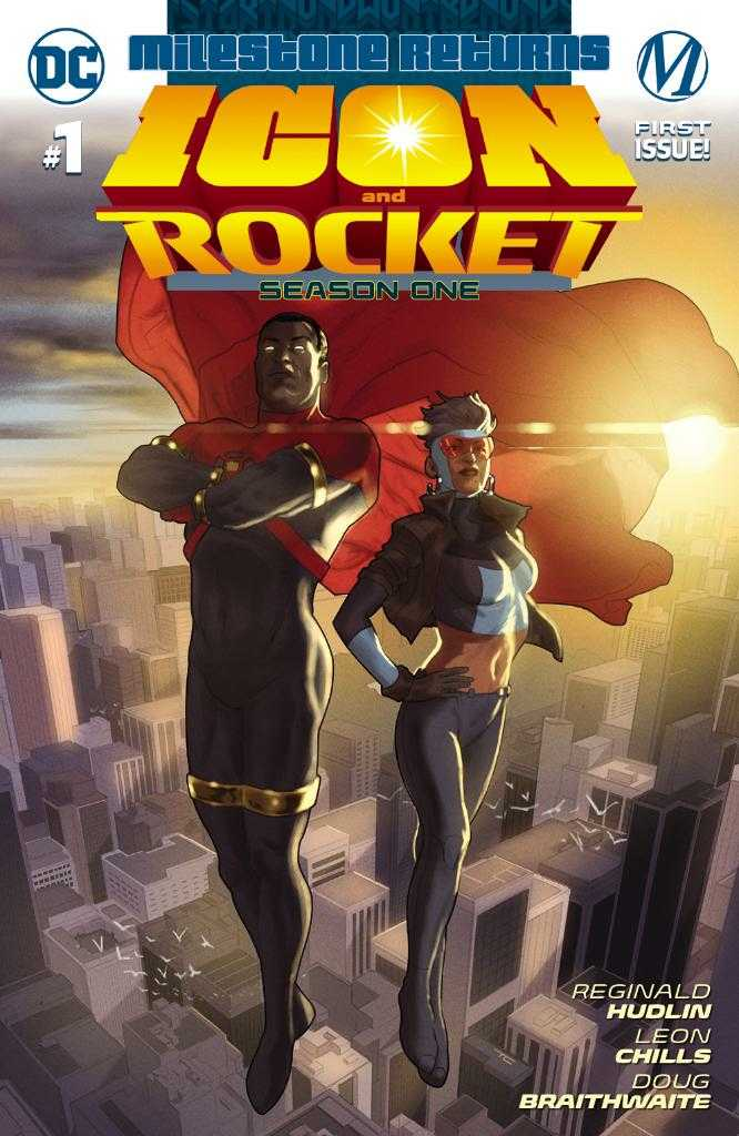 Icon and Rocket Season One Issue One Cover