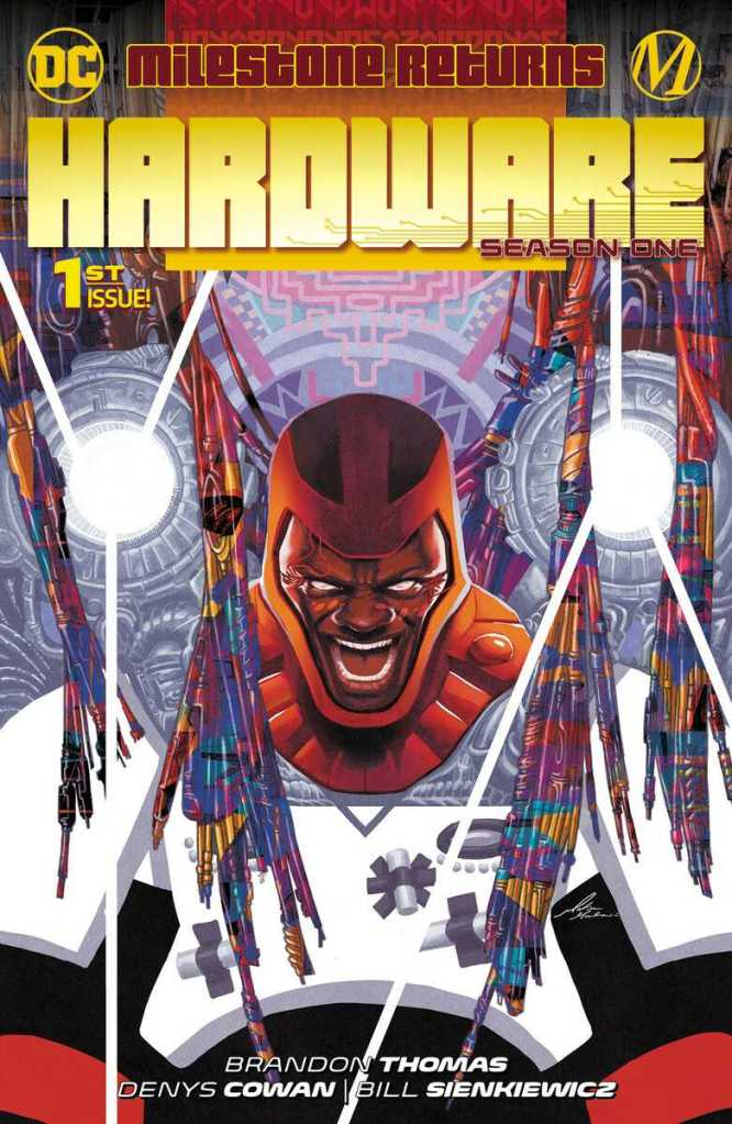 Hardware Season One Issue One Cover