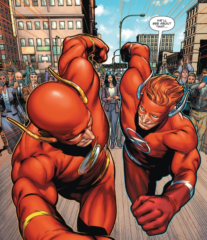 The Flash Issue 768- Visual 2