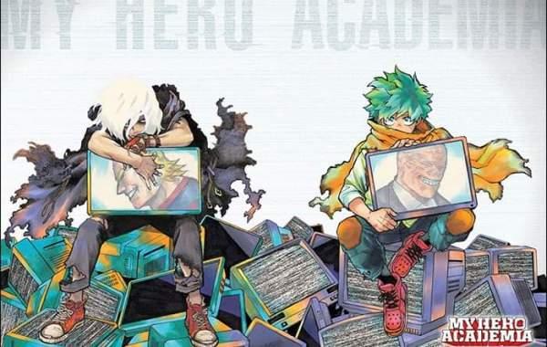 My Hero Academia Chapter 306 Color Spread