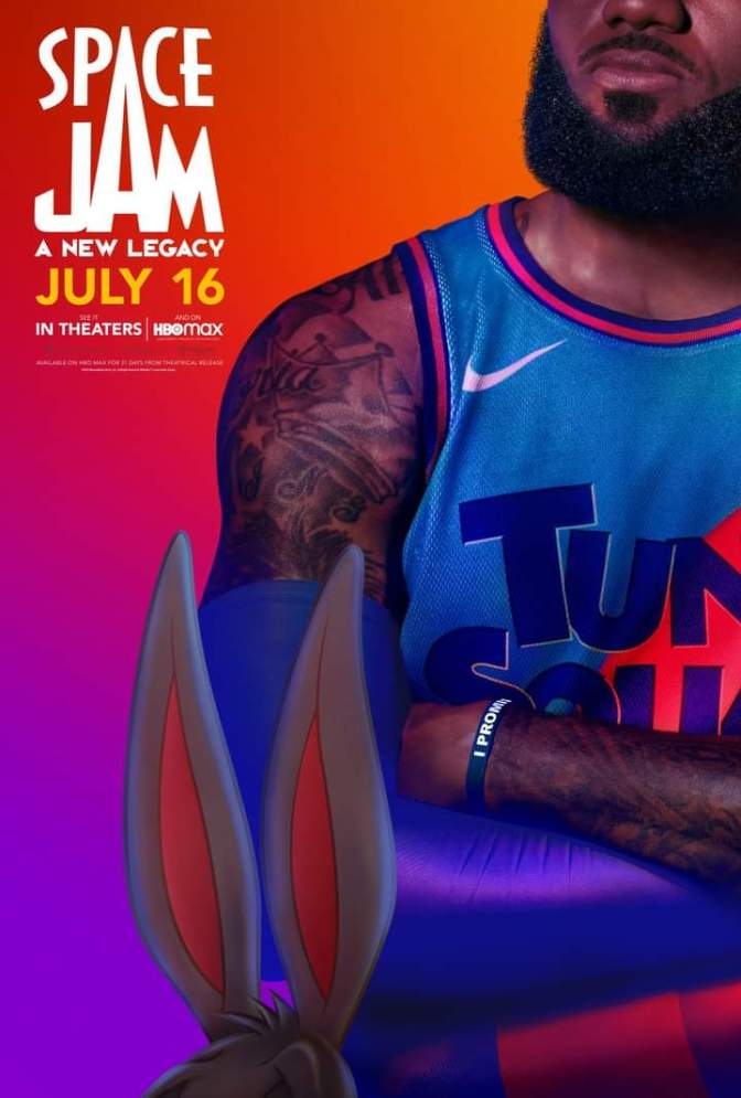 Space Jam: A New Legacy Character Poster- Lebron James