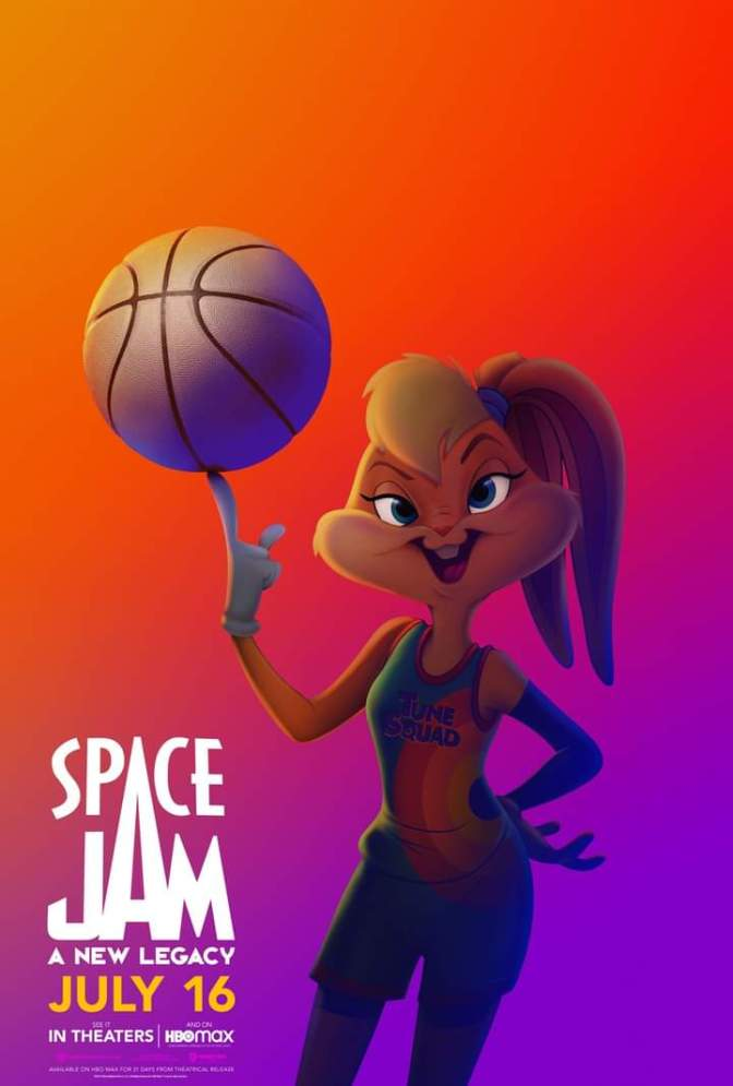 Space Jam: A New Legacy Character Poster- Lola Bunny