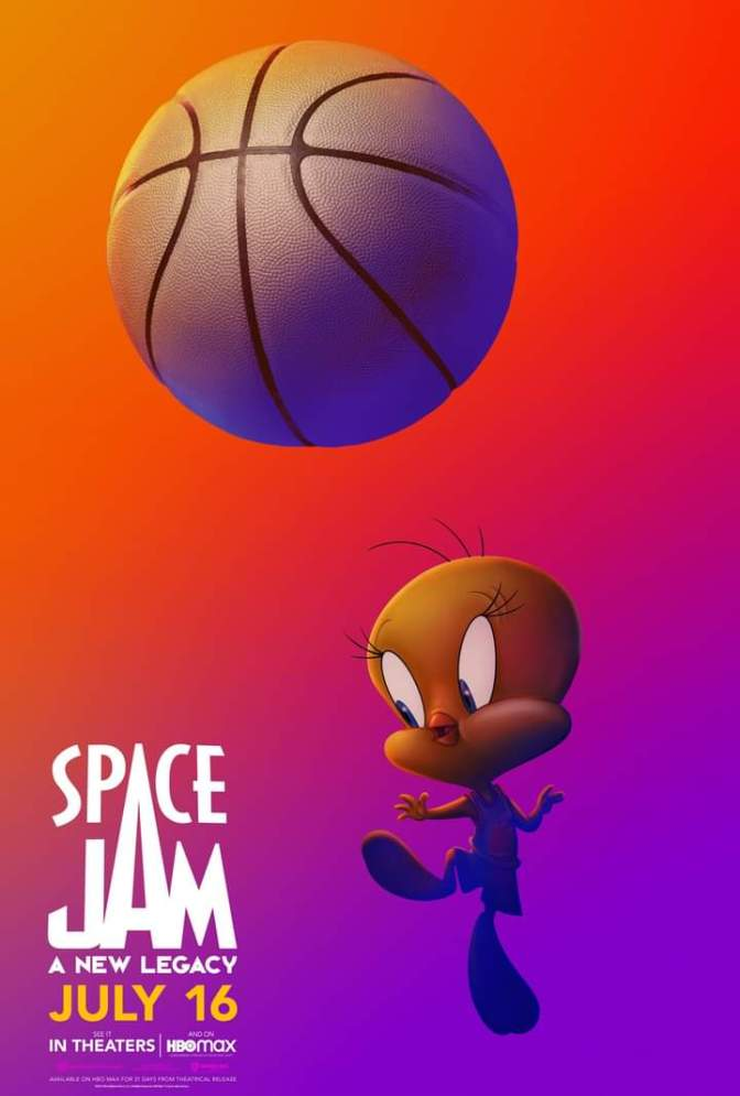 Space Jam: A New Legacy Character Poster- Tweety