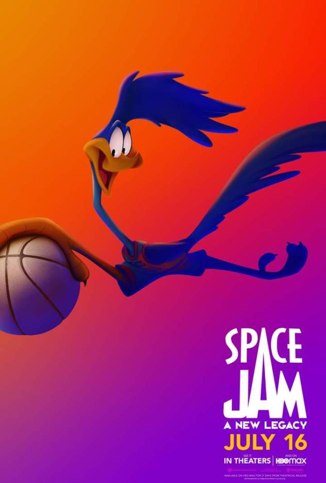 Space Jam: A New Legacy Character Poster- Road Runner