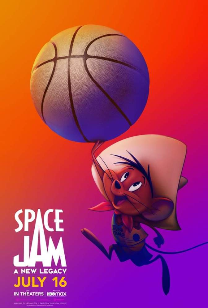 Space Jam: A New Legacy Character Poster- Speedy Gonzales