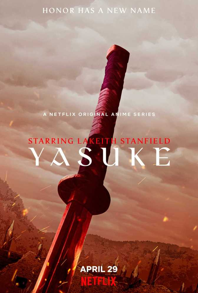 Yasuke Promotional Visual 2