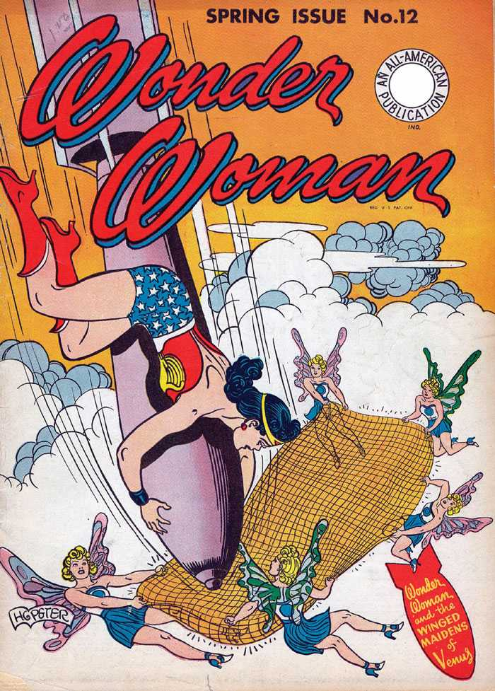 Wonder Woman Issue No. 12 Cover