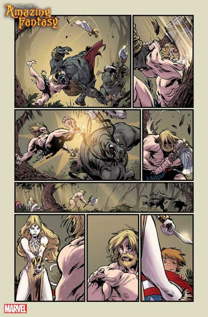 Amazing Fantasy Preview Page 1