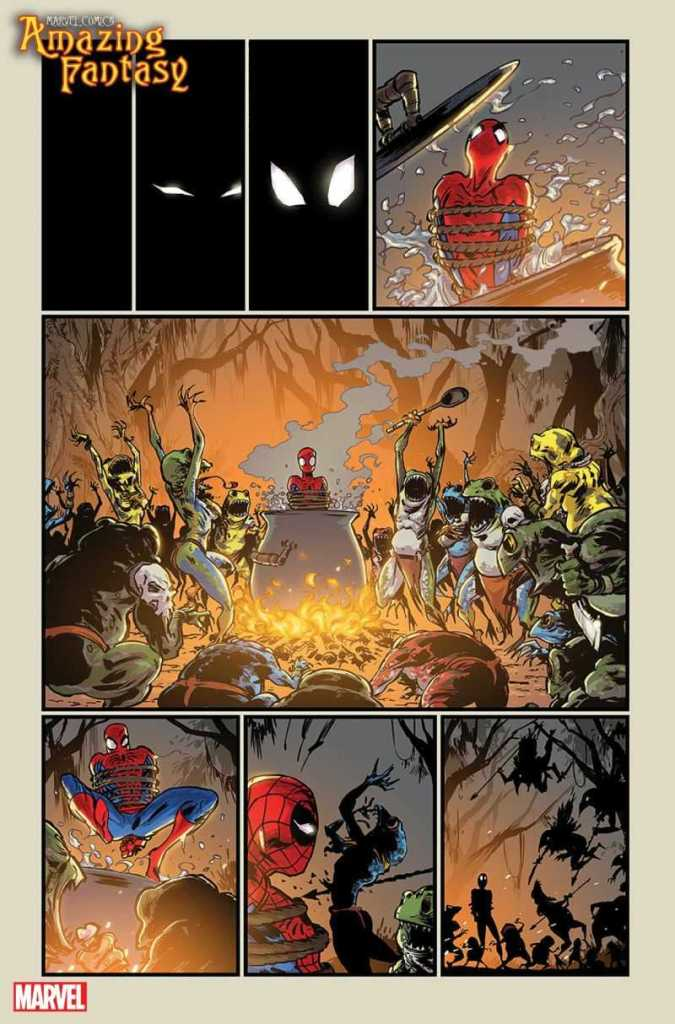 Amazing Fantasy Preview Page 2
