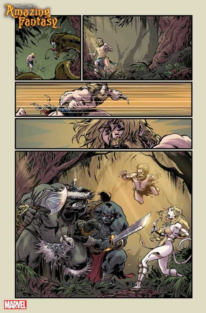 Amazing Fantasy Preview Page 3