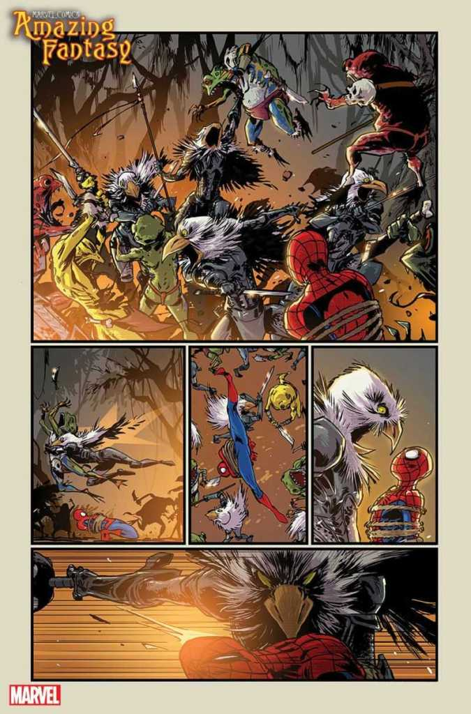 Amazing Fantasy Preview Page 4